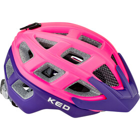 KED Kailu Fietshelm Kinderen, pink purple matt